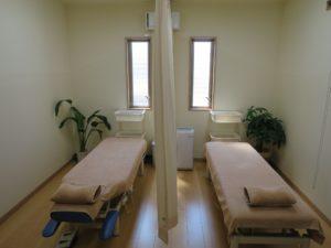 堀田治療院の施術室