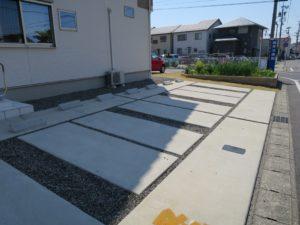 一宮市の鍼灸院は堀田治療院の駐車場画像