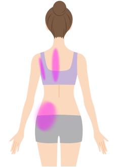 肘の痛みの原因個所のイラスト